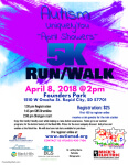 UniquelyYou 5k  April Showers registration logo