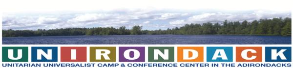 Unirondack 5K registration logo