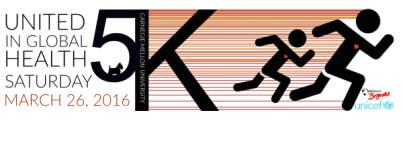 United in Global Health 5K registration logo