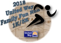 United Way Family Fun Run registration logo
