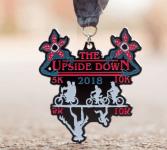 Upside Down 5K and 10K 2018 registration logo