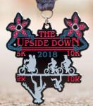 Upside Down 5K and 10K registration logo