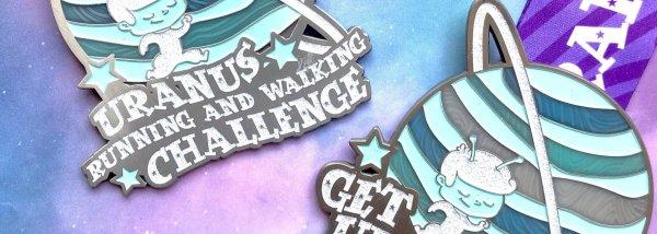 Uranus Running and Walking Challenge 2020 registration logo