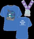 Uranus Running and Walking Challenge - Get Uranus Moving registration logo