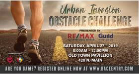 Urban Invasion Obstacle Challenge registration logo