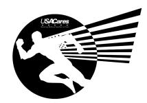 USA Cares Superhero 1 Mile & 5K Race registration logo