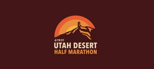 Utah Desert Half Marathon registration logo