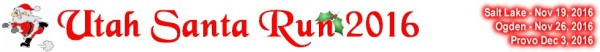 Utah Santa Run registration logo