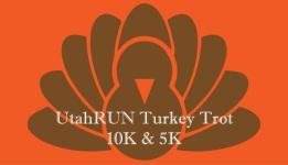 UtahRUN Turkey Trot registration logo