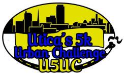 utica's 5k urban challenge - u5uc registration logo