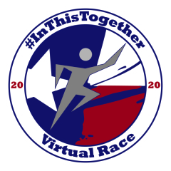 V Fit's In This Together Virtual Race registration logo