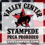 Valley Center Stampede Rodeo & Memorial Festival registration logo