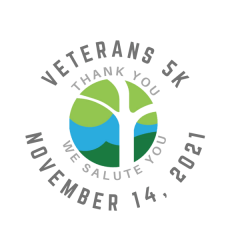 Veterans 5K Run registration logo