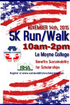 Veteran's Day 5K registration logo