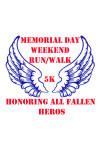Memorial Day Weekend Run/Walk registration logo