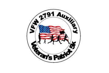 Veteran's Patriot 5k registration logo