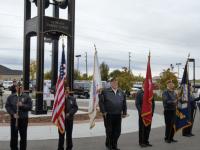 Veterans Tribute Run registration logo
