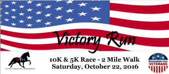 Victory Run 5 & 10 K registration logo
