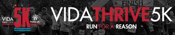 VIDA Thrive 5K registration logo