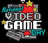 Video Game Day 1 Mile, 5K, 10K, 13.1, 26.2 registration logo