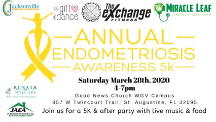 Virtual 3rd Annual End Endo 5K registration logo