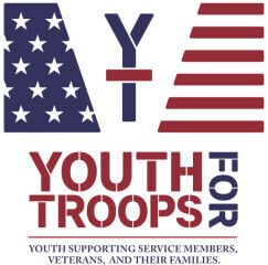 Virtual 5K for Youth for Troops registration logo