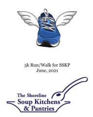 Virtual 5k Walk and Run for the Shoreline Soup Kitchens & Pantries registration logo