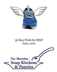 Virtual 5k Walk and Run for the Shoreline Soup Kitchens & Pantries registration logo