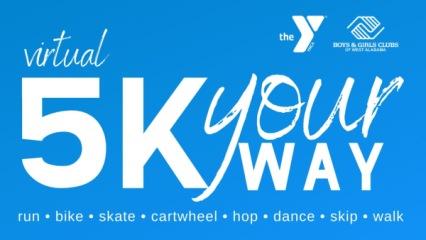 Virtual 5k Your Way registration logo