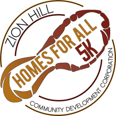 Homes for All, Virtual 5K registration logo
