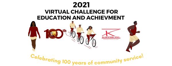 Virtual Challenge for Education & Achievement  registration logo