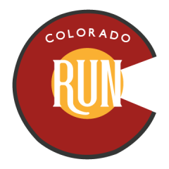 Virtual Colorado Run registration logo