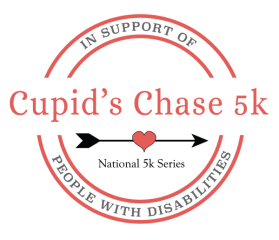 Virtual Cupid's Chase - Moorestown NJ registration logo