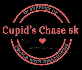 Virtual Cupid's Chase - Morristown NJ registration logo
