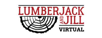 Virtual Lumberjack & Jill 10 Mile Run registration logo