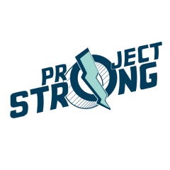 Virtual Project Strong 5K registration logo