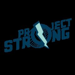 Virtual Project Strong 5K registration logo