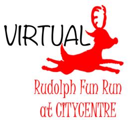 Virtual Rudolph Fun Run registration logo