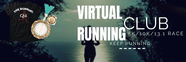 Virtual Running Club 5K/10K/13.1 Race registration logo