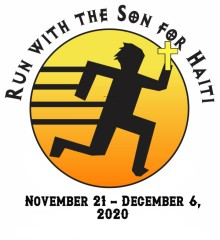 VIRTUAL Run/Walk with the Son for Haiti 5 K registration logo