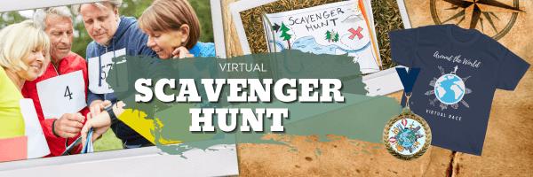 Virtual Scavenger Hunt 2021 registration logo
