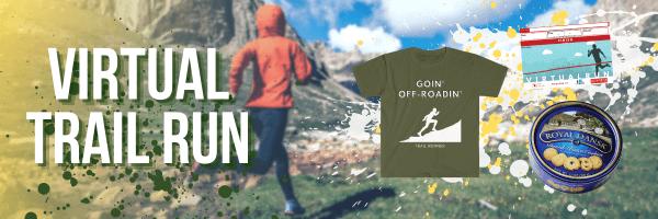 Virtual Trail Run Ultra registration logo