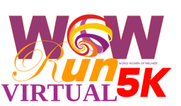 Virtual WOW Run 5K registration logo