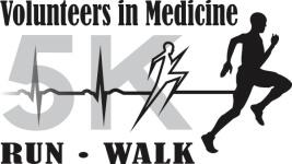 Volunteers In Medicine Annual 5K Run/Walk registration logo