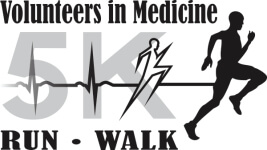 Volunteers In Medicine Annual 5K Run/Walk registration logo