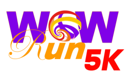 WOW Run 5K registration logo