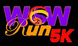 WOW Run 5K registration logo