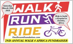WALK 4 AFRICA registration logo