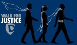 Walk for Justice registration logo