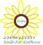 Walk for Kathryn registration logo